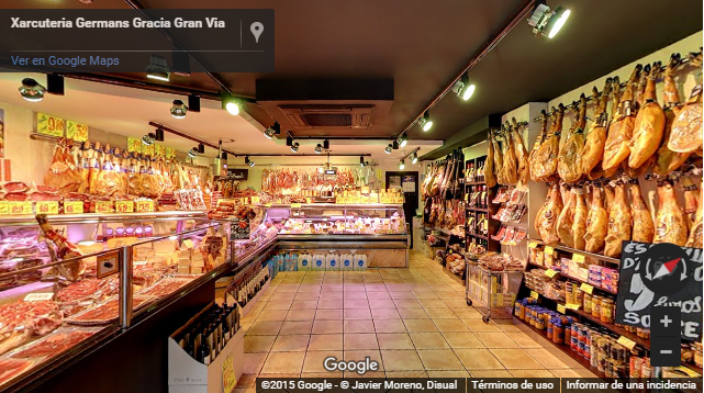 Tour Virtual Charcuteria Germans Gracia Xarcuteries Gran Via