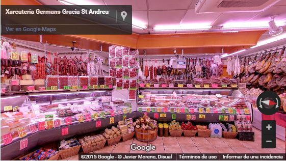 Tour Virtual Charcuteria Sant Andreu Germans Gracia Xarcuteries